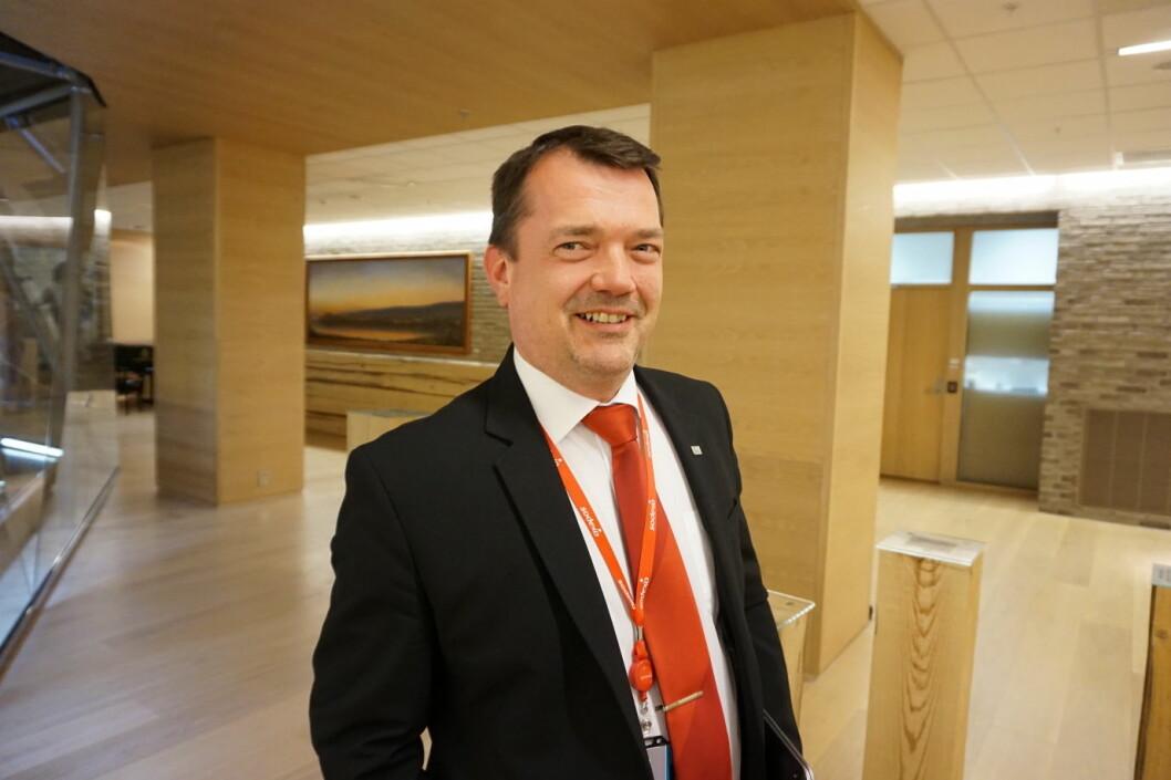 Site Manager for Sodexo hos DNB, Pål Pettersen. (Foto: Sodexo)