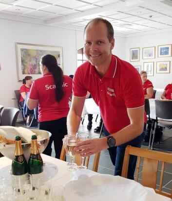 Hotelldirektør på Scandic Hafjell, Erik Fostervoll. (Foto: Scandic Hafjell)