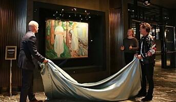 Gjemt Munch-verk på Clarion Hotel Oslo