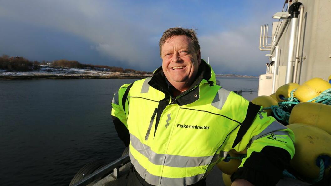 Fiskeriminister Harald T. Nesvik. (Foto: Nærings- og fiskeridepartementet/Smak 2020)