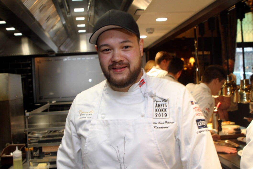 Christian A. Pettersen satser på å bli Norges Bocuse d'Or-kokk nok en gang. (Foto: Morten Holt)