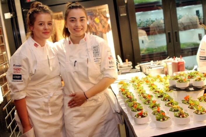 CommisAleksandra Dawidovicz og Liliana Haaland. (Foto: Morten Holt)