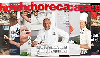 Årets femte Horeca-magasin på vei