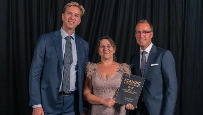 Årets ansatt i Scandic Hotels: Angela Ferar på Scandic Valdres. (Foto: Scandic Hotels)