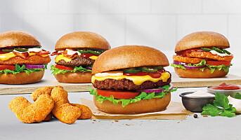 Max med ny burger i fire varianter