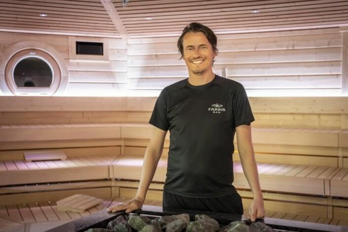 Lasse Eriksen, Farris Bads egen, fag- og utviklingsansvarlig for spa-delen. (Foto: Farris Bad)