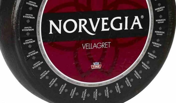 Norvegia Vellagret 5 år er vinner av NM i ost 2019. (Foto: Tine)