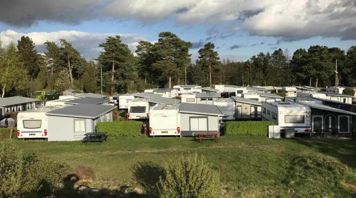 Larkollen camping. (Foto: Morten Holt)