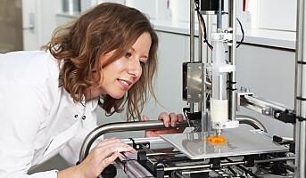 3D-printeren lager maten