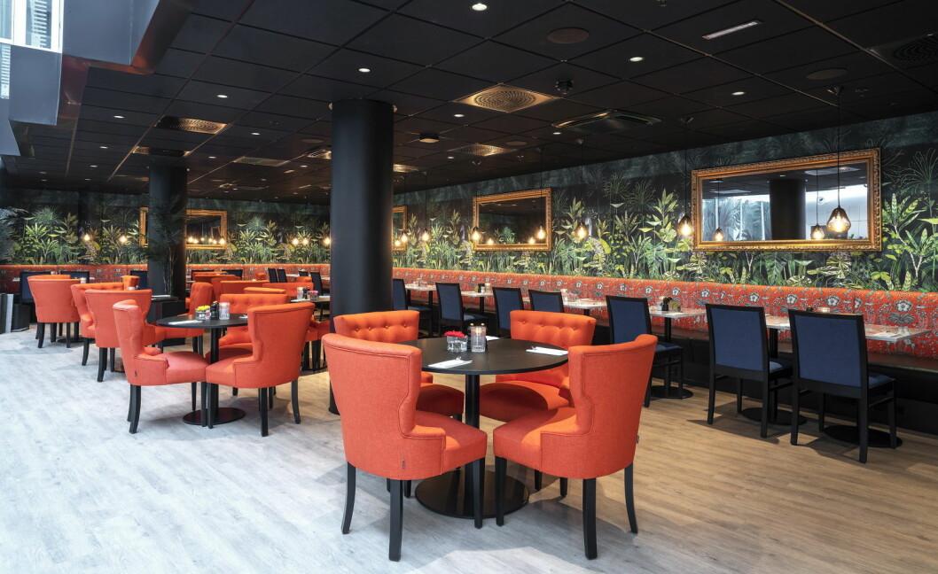 Restauranten på Thon Hotel Cecil serverer nå gratis kveldsmat til hotellgjester. (Foto: Thonhotels.no)