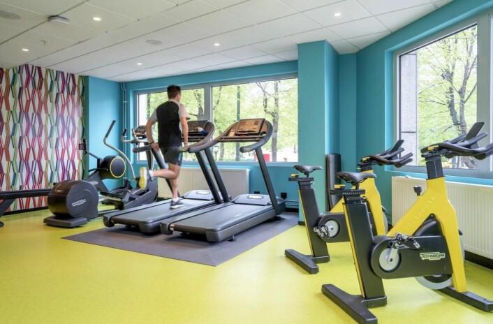 Det er helt nytt treningsrom på Thon Hotel Cecil. (Foto: Thonhotels.no)