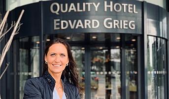 Inn i ledelsen på Quality Hotel Edvard Grieg