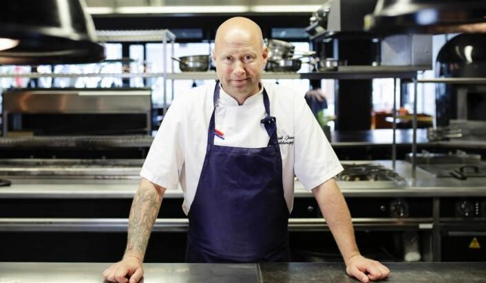 Øyvind Jensen gir seg etter seks år som kjøkkensjef på Thon Hotel Oslo Airport. (Foto: Thon Hotel Oslo Airport)
