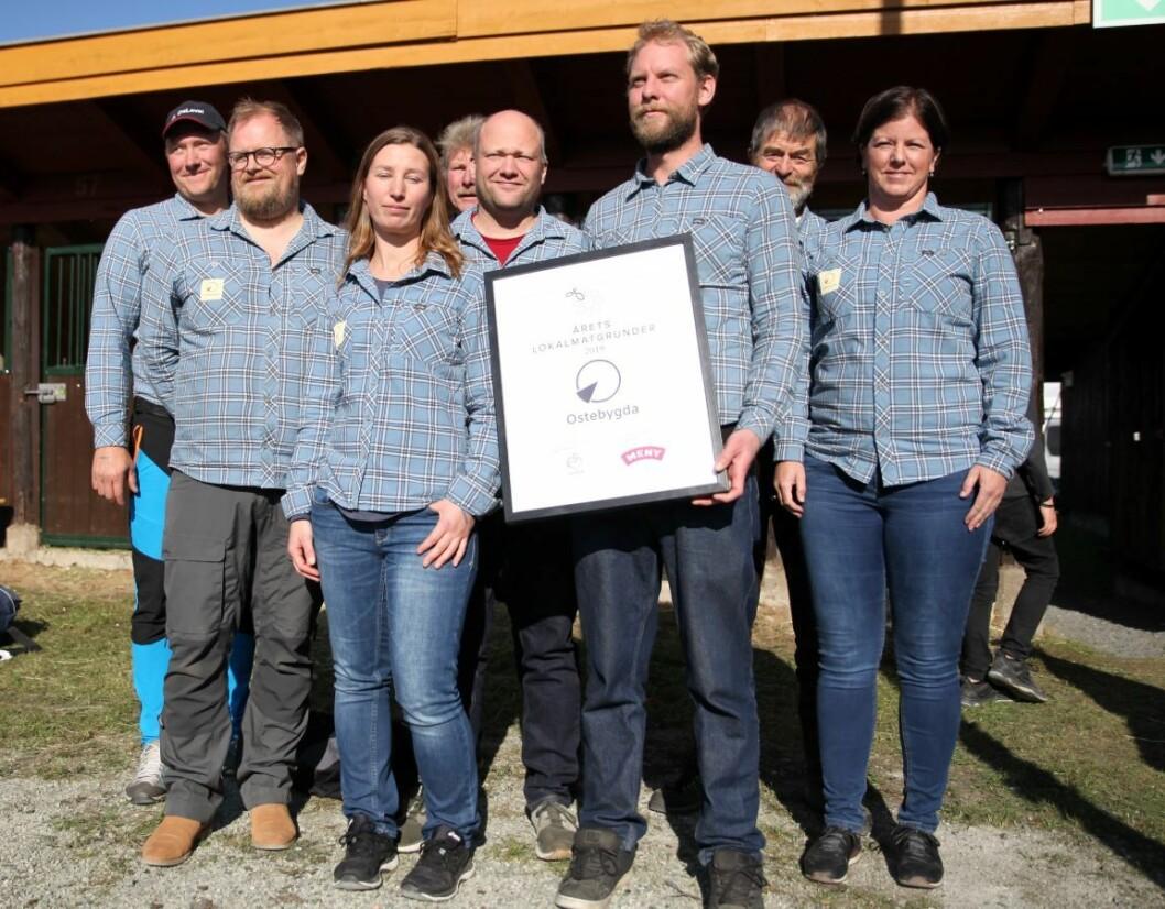 Årets Lokalmatgründer 2019 er Ostebygda (Foto: Meny).