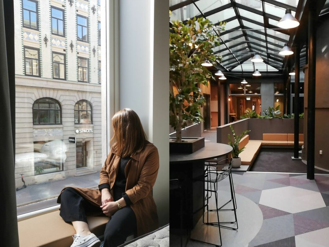 Den nye lobbyen i Citybox Oslo (Foto: Citybox)