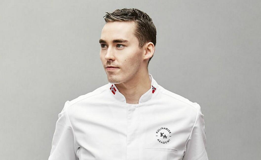 Kenneth Pettersen er Årets sjømatkokk 2019. (Foto: Eureca)