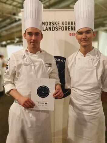 Kenneth Pettersen vant Årets sjømatkokk. (Foto: Årets sjømatkokk)