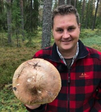 Vinneren av NM i kokkekunst i 1999, Tommy Østhagen, er nominert til kokkeprisen. (Foto: Liz Buer)