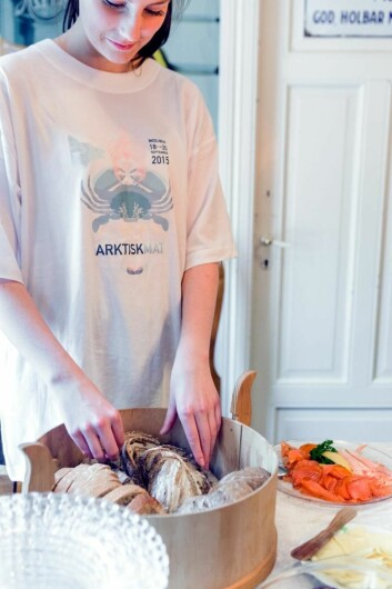 Arktisk Mat er en av tre nominerte i kategorien Årets formidler. (Foto:Lovise Myrnes Steinrud)