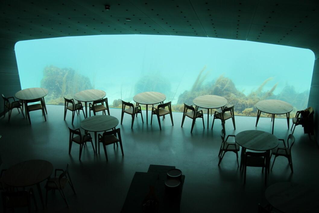 Restaurant Under. (Foto: Morten Holt)