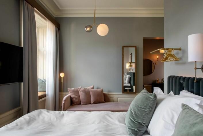 Hotel Frantz er et familieeid boutiquehotell med 48 rom. (Foto: Best Western)