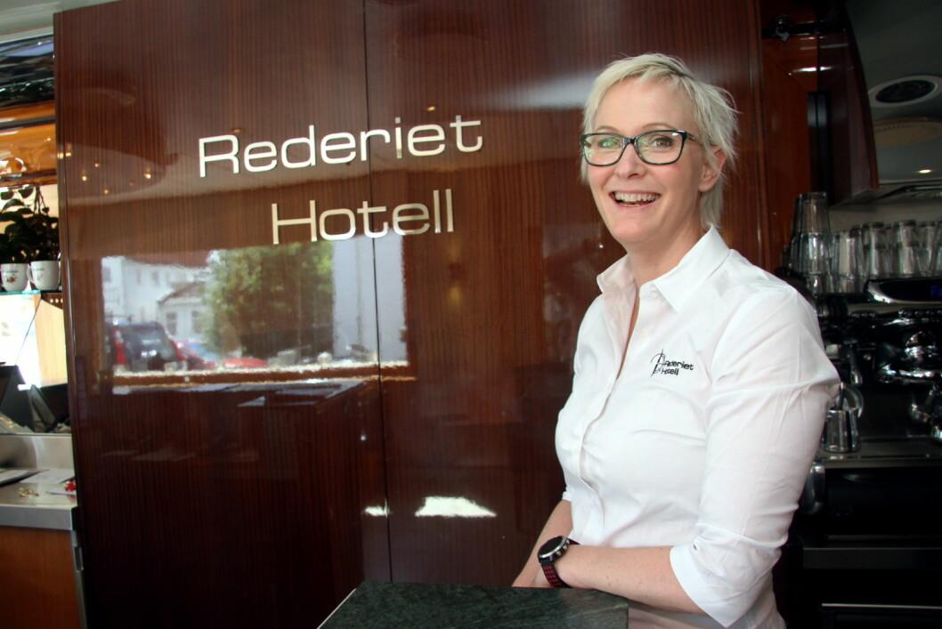 Therese Malmo styrer Rederiet Hotell og Farsund Resort. (Foto: Morten Holt)
