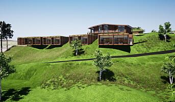 Hotell vokser ut av bakken på Inderøy