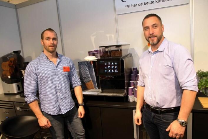 Fast Food Service, representert ved Bernt Sinclair (til venstre) og Antonio Pineda. (Foto: Morten Holt)