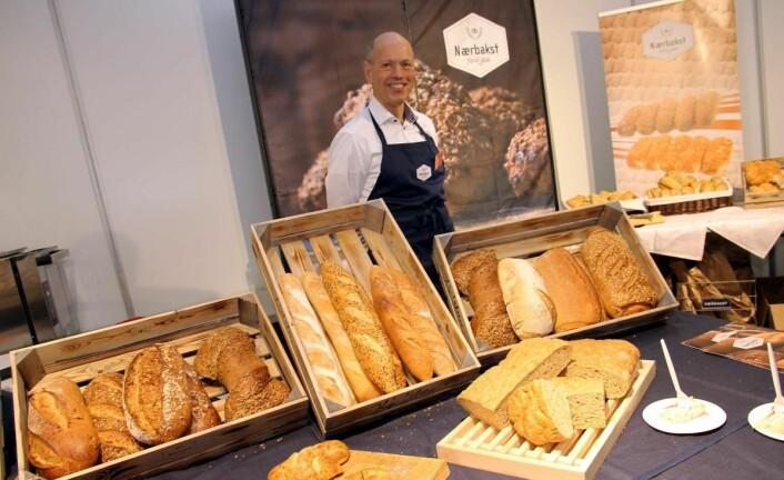 Brød i alle varianter hos Nærbakst og Per-Otto Nedrelid. (Foto: Morten Holt)