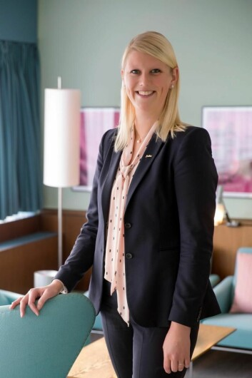 Helene Hallre har lang fartstid i Radisson Hotel Group. (Foto: Radisson Hotel Group)