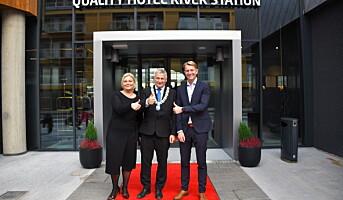 Quality Hotel River Station offisielt åpnet
