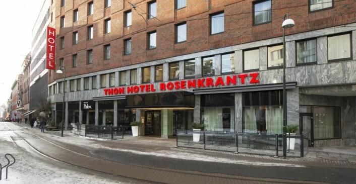 Thon Hotel Rosenkrantz.