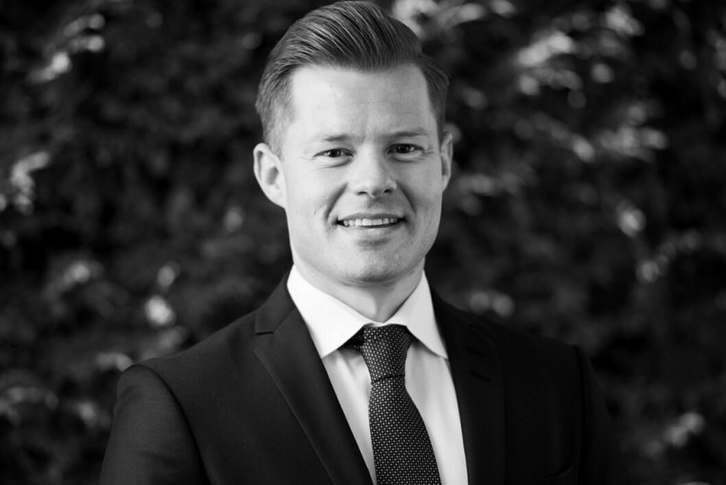 Aleksander Ragnem er ansatt som nordisk salgsdirektør i Belvar.  (Foto: Belvar)