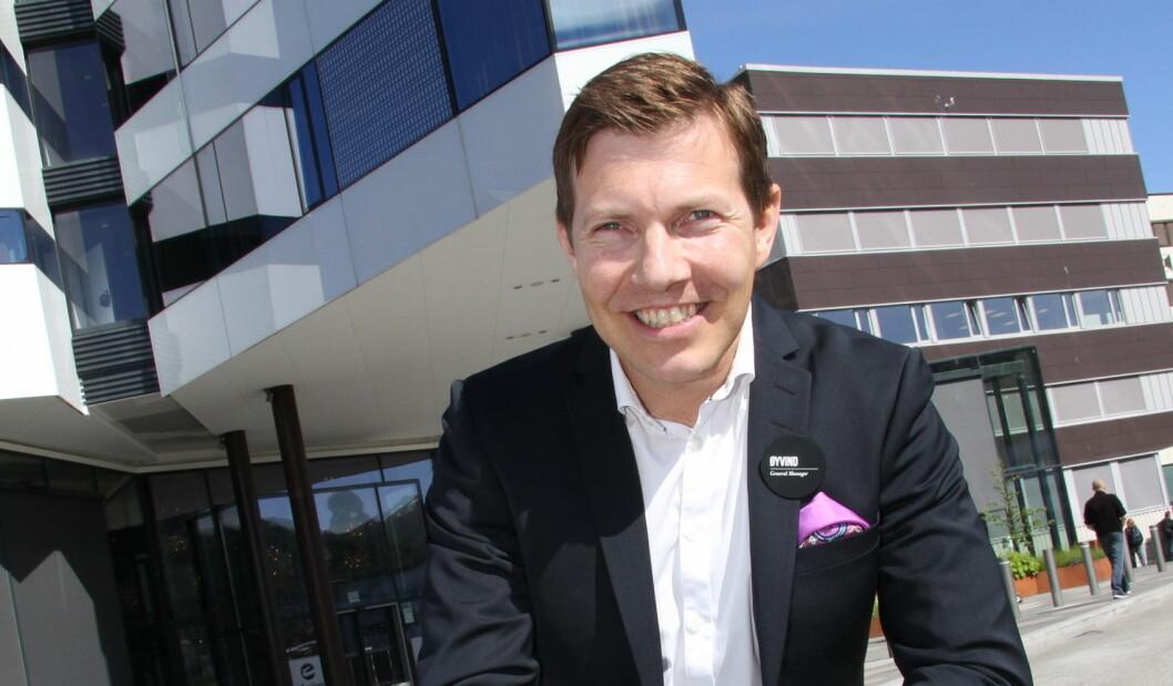 Kjededirektør for Clarion Collection Hotel, Øyvind Alapnes. (Foto: Morten Holt)