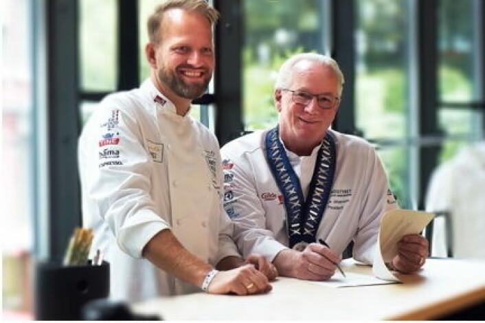 Tom Victor Gausdal og Helge Johansen. (Foto: Eirik Nilssen/ImpulsFoto)