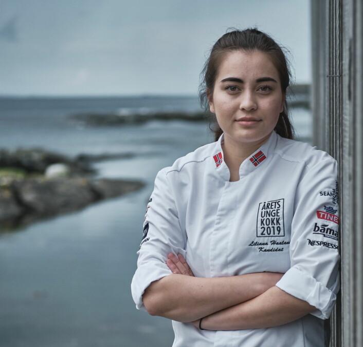 Liliana Haaland. (Foto: Årets unge kokk)