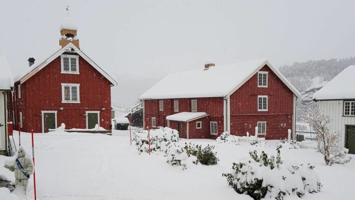 Kongsvold Fjeldstue er en av de gamle fjellstuene på Dovrefjell. (Foto:Anne-Judith Munthe-Kaas, Riksantikvaren)