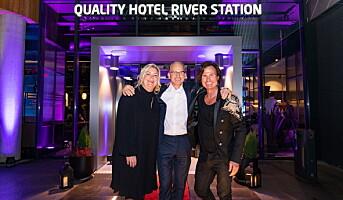 Åpningsfest på Quality Hotel River Station