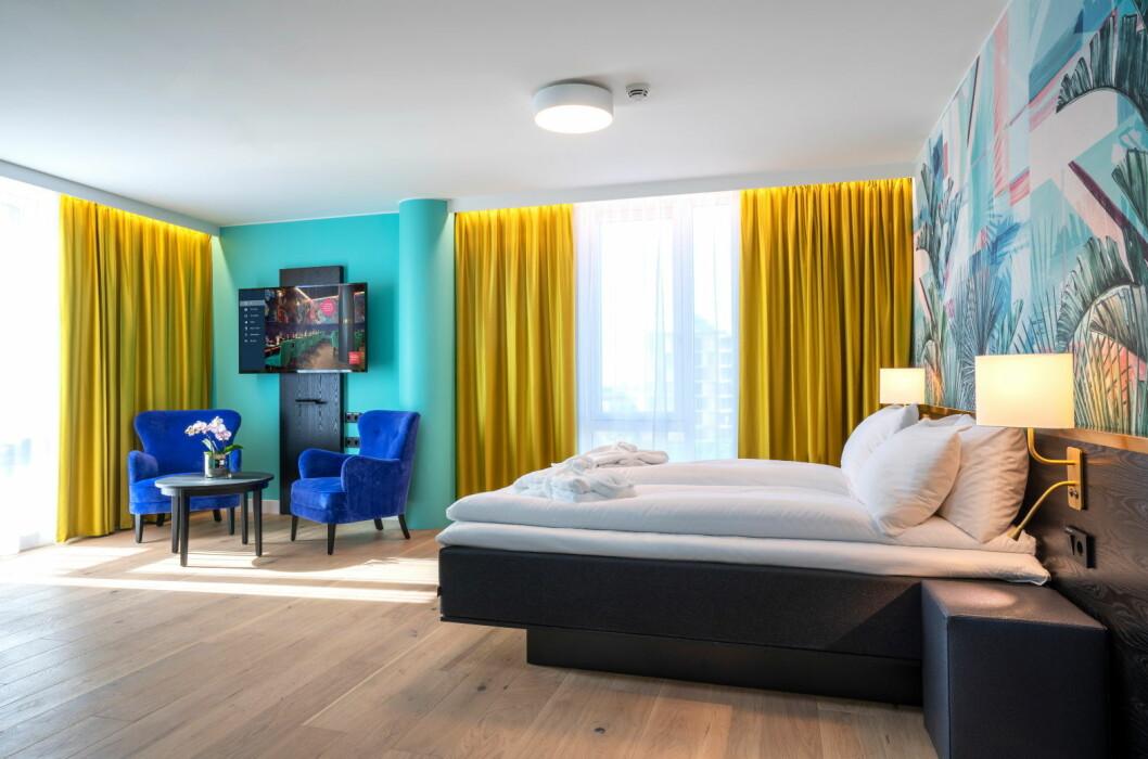 BazePort IPTV-system installert på Thon Hotel Storo. (Foto: Thonhotels.no)