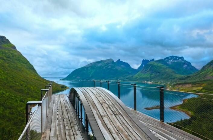 Senja er fastland-Norges nest største øy. (Foto: Colourbox.com)