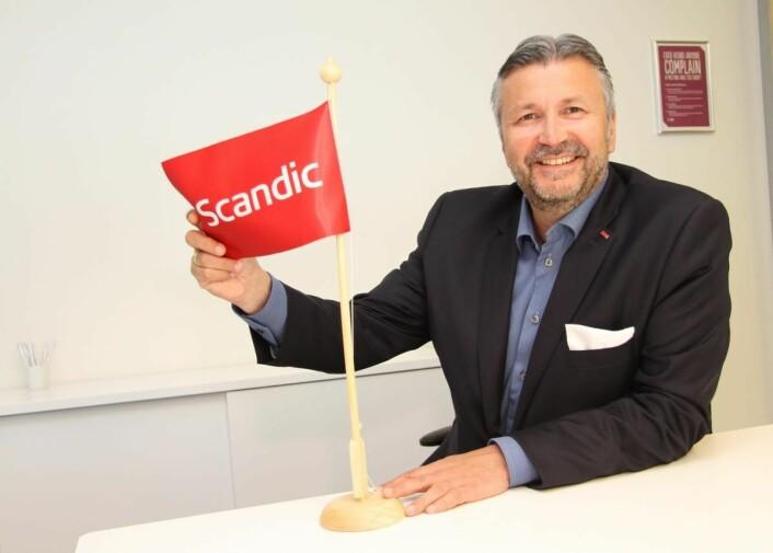 Etter ni år som sjef for Scandic Hotels Norge, rykker Svein Arild Steen-Mevold opp som ansvarlig for utvikling av hele konsernets hotellportefølje. (Foto: Morten Holt)