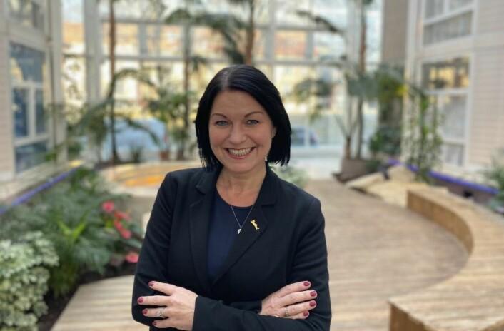 Hotelldirektør på Radisson Blu Royal Garden Hotel, Tone Hansen. (Foto:Radisson Blu Royal Garden Hotel)