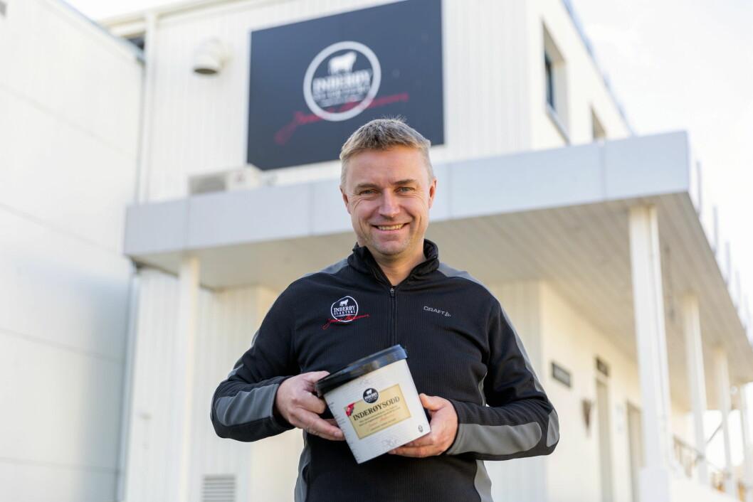 Håvard Gausen i Inderøy Slakteri mener sauekjøtt har stort potensial i norsk kjøttproduksjon. (Foto: Inderøy Slakteri).