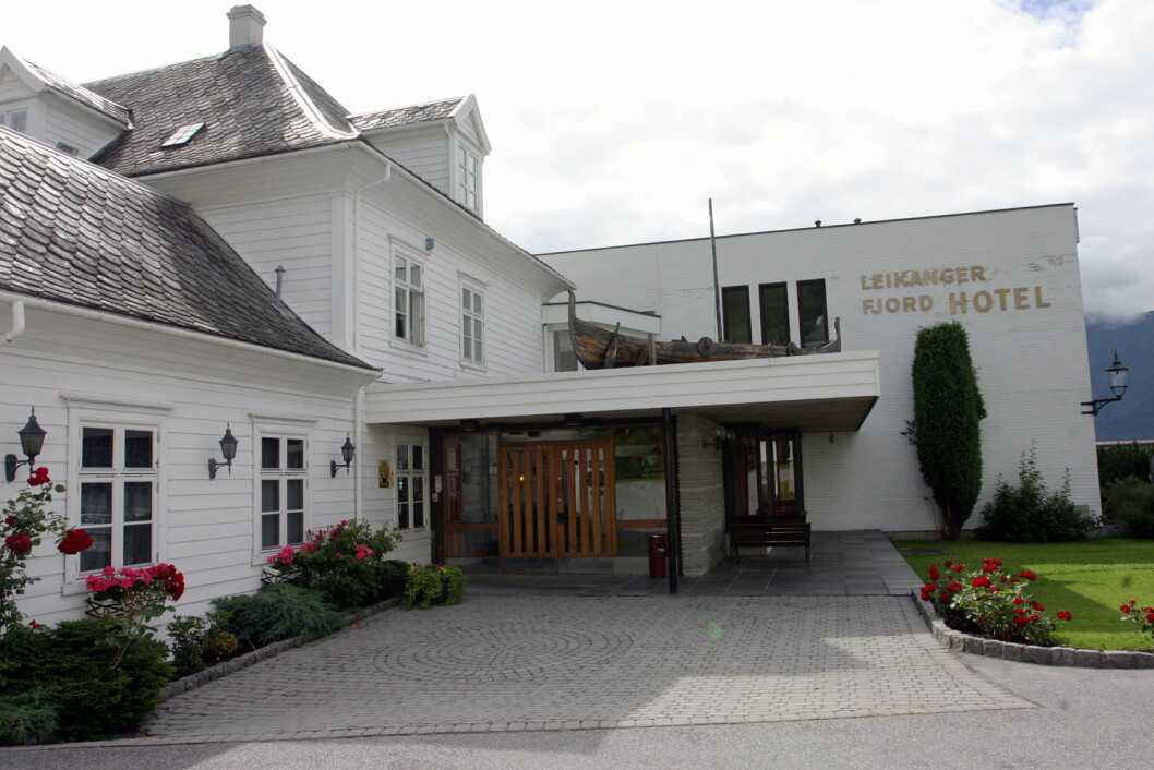 Leikanger Fjord Hotel. (Arkivfoto: Morten Holt)
