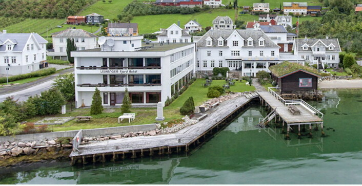 Leikanger Fjord Hotel. (Foto: Hotellet)