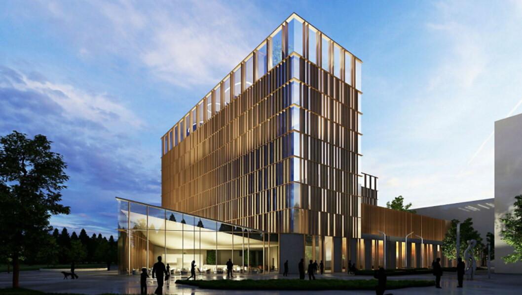 Marawell Hotel Oslo Airport City åpnes høsten 2022  med 410 rom, blir det første hotellet i den nye livsstilskjeden Marawell Hotels. (Foto: Illustrasjon: Haptic Architects)