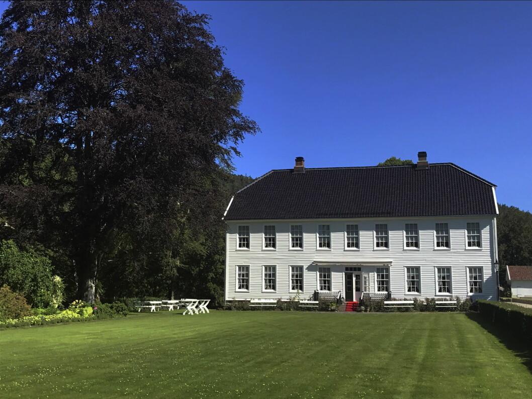 Boen Gård utenfor Kristiansand er nytt medlem i De Historiske. (Foto: Morten Holt)