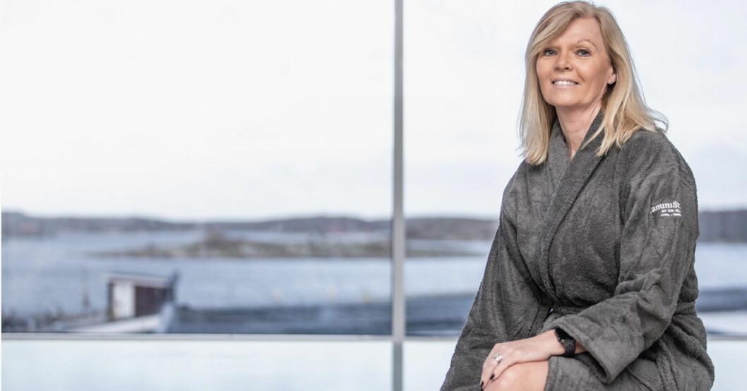 Marit Bjørnland er ny hotelldirektør på TanumStrand ved Grebbestad. (Foto: TanumStrand)
