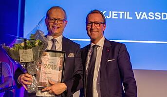 Vassdal ble «Årets hotelldirektør» i Scandic