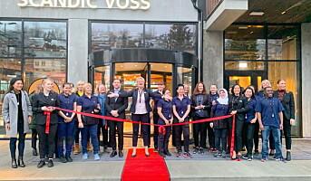 Scandic Voss har åpnet